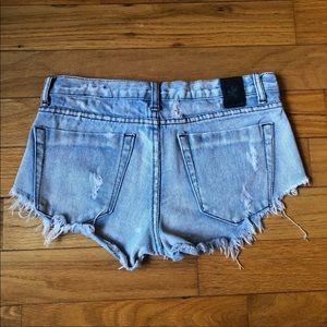 One Teaspoon Shorts - One Teaspoon Denim Shorts